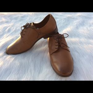 Other - Derby shoes in faux leather Size 10.5